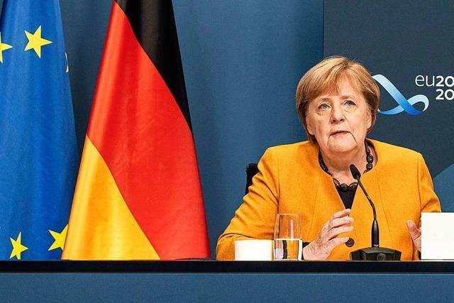 Merkel ruft G20 zu