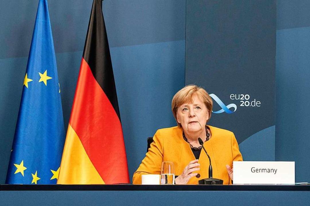 Angela Merkel  | Foto: Guido Bergmann (dpa)