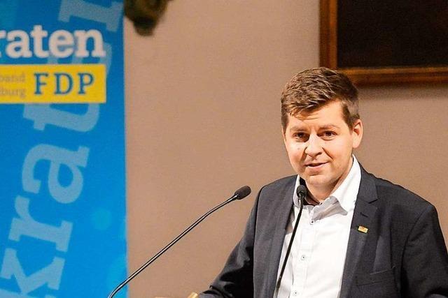 Freiburgs FDP wählt Hartmut Hanke wieder zu ihrem Vorsitzenden