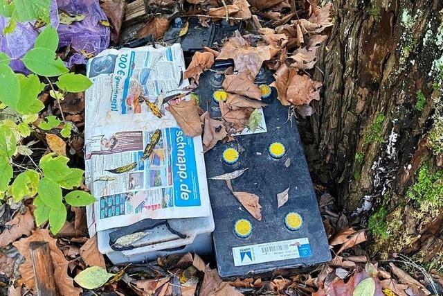Anwohner ärgern sich über Wildcamper in Schopfheim