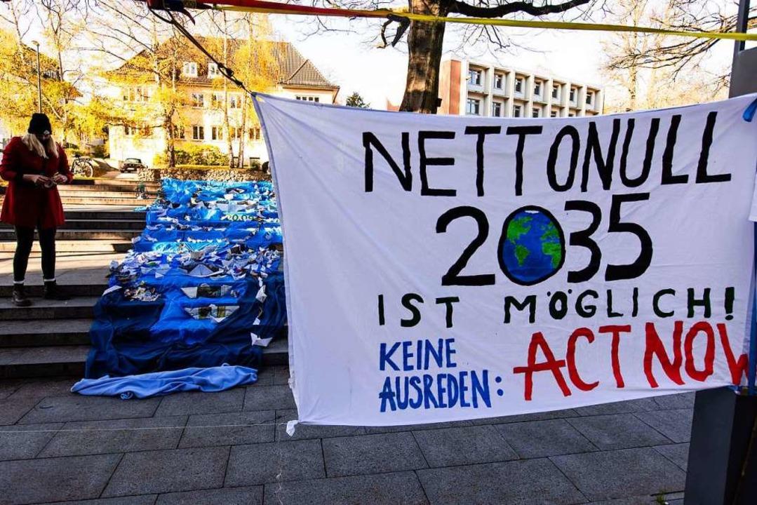 Bislang gelten die Grünen als die Klim...partei. Bekommen sie jetzt Konkurrenz?  | Foto: Frank Molter (dpa)