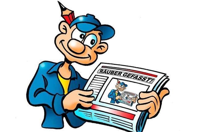 B. Zetti und Betti Z. gehen eine Zeitung drucken