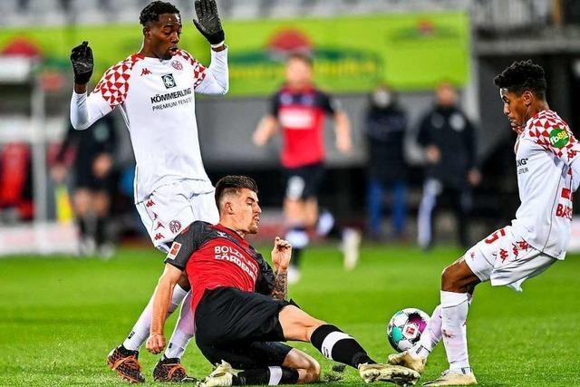 SC Freiburg verliert nach schwacher erster Hälfte gegen Mainz