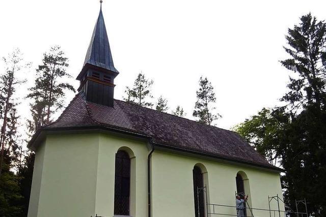 Großer Einsatz für kleine Kirche: So wurde eine Kapelle herausgeputzt