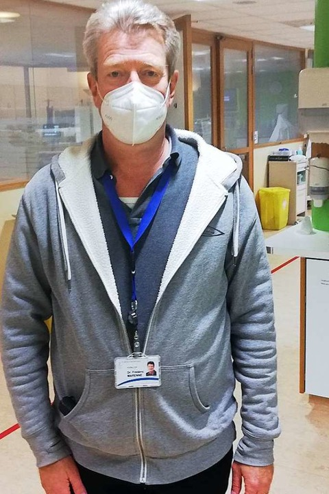 Frédéric Marenne ist Chefarzt des Eupener Krankenhauses.    Foto: Cedric Rehman