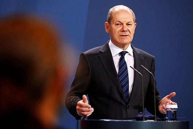 Scholz plant für 2021 mit mehr neuen Schulden