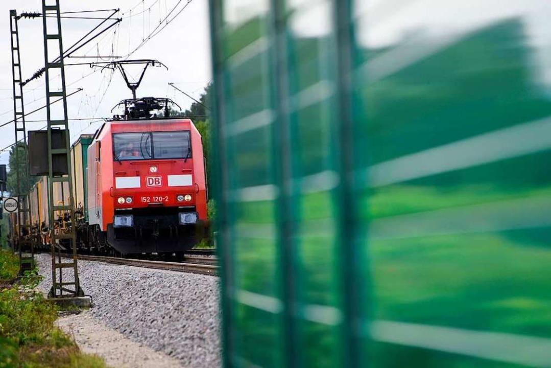 Für die Deutsche Bahn ist die Normalla...ittel der Wahl im Streckenabschnitt 7.  | Foto: Siegfried Gollrad