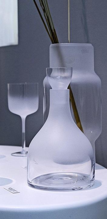 Satiniertes Glas    Foto: Franziska Gabbert (dpa)