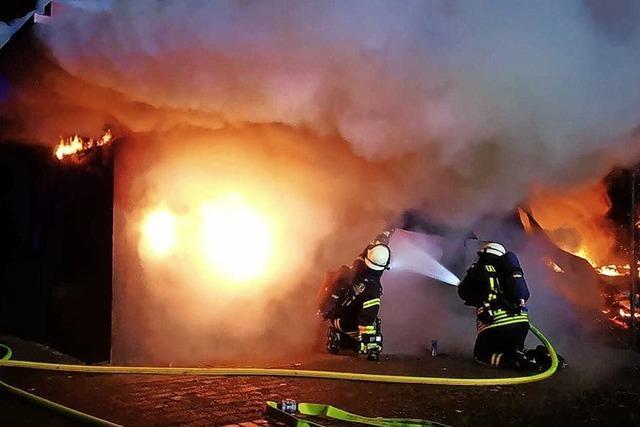 Fischerhütte ausgebrannt