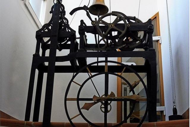Laufenburger Rathausuhr läuft sei 250 Jahren