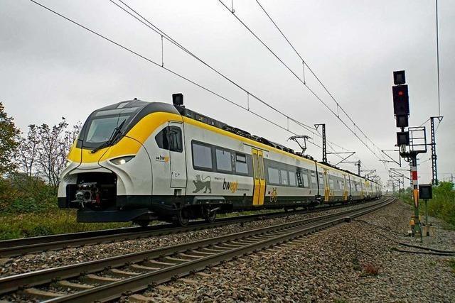 Untersuchung zur Störung bei Mireo-Zügen im Breisgau läuft noch