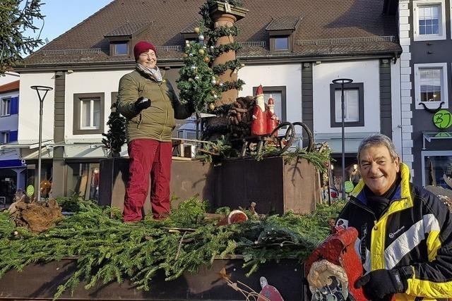 Emmendinger Weihnachtsbrunnen