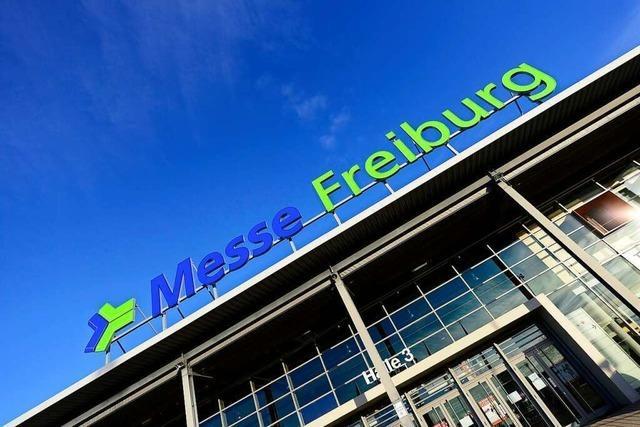 Impfzentrum auf der Messe Freiburg soll Mitte Dezember einsatzbereit sein