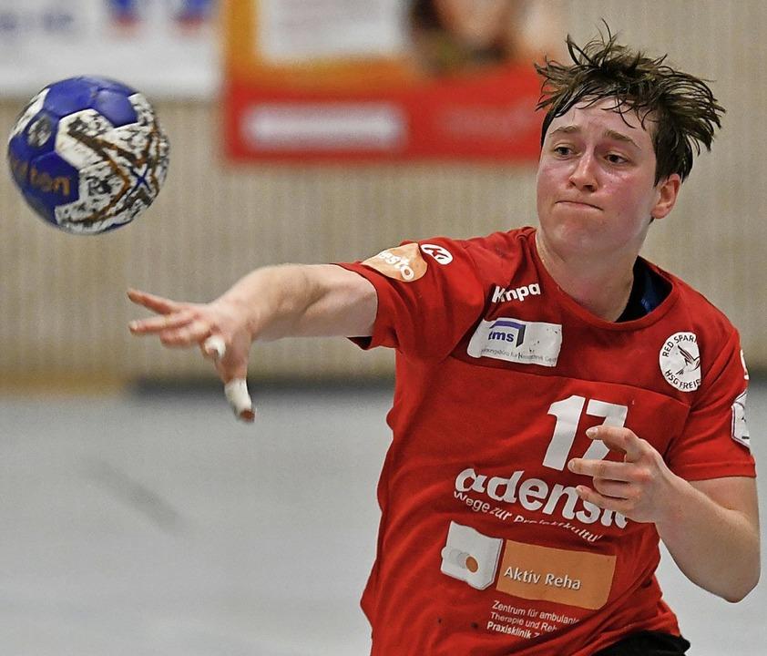 <BZ-FotoAnlauf>Handball:</BZ-FotoAnlau...gerin beim Zweitligisten HSG Freiburg.  | Foto: Achim Keller