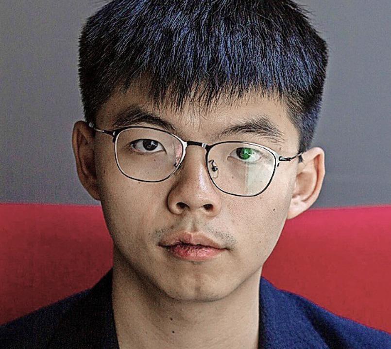 Joshua Wong    Foto: ALASTAIR PIKE (AFP)