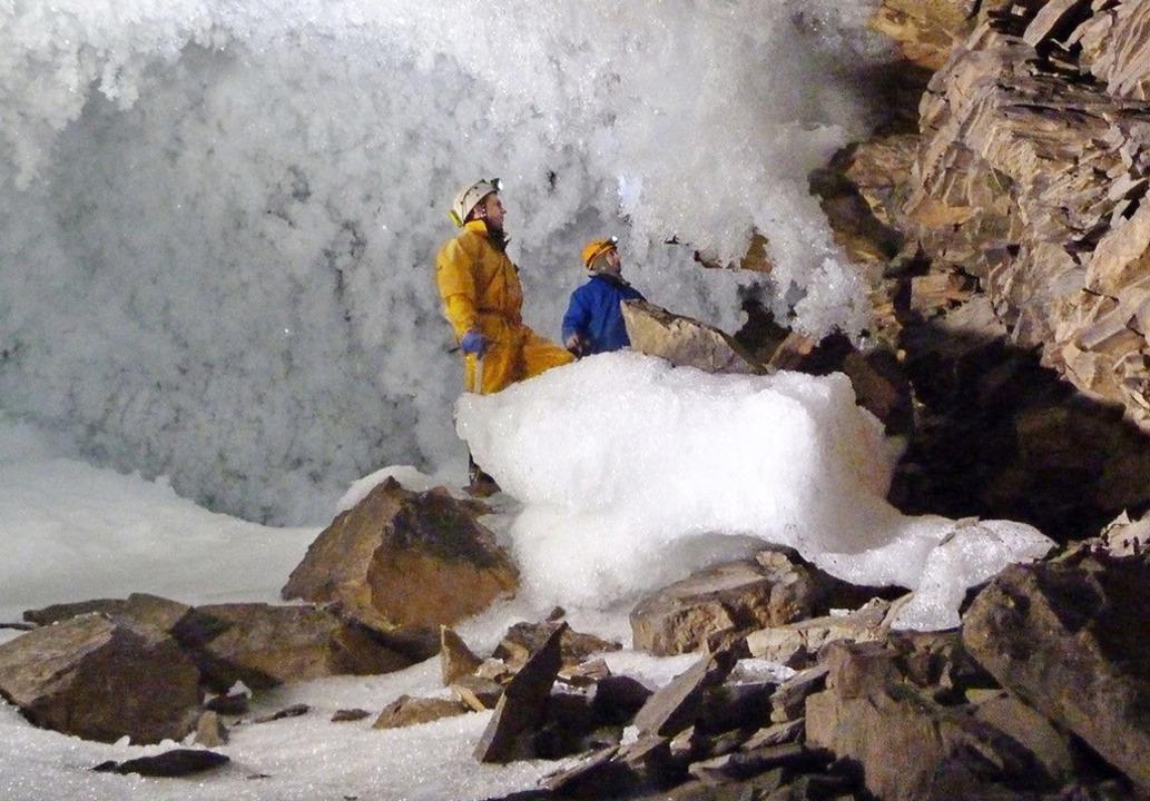 Eiskalte Forschung: Wissenschaftler sa...ürden  mehr Treibhausgase freigesetzt.  | Foto: -