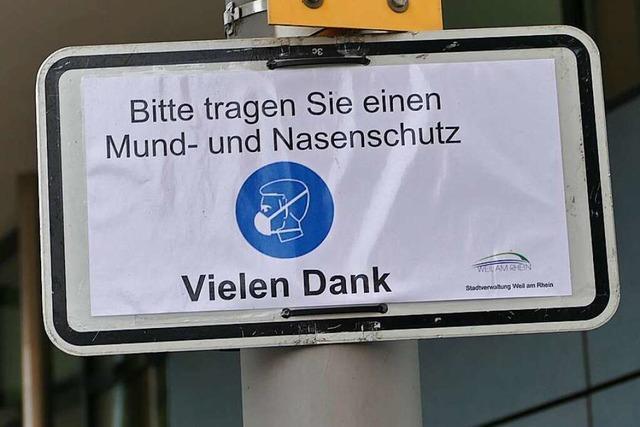 Wo in Weil am Rhein überall Maskenpflicht gilt
