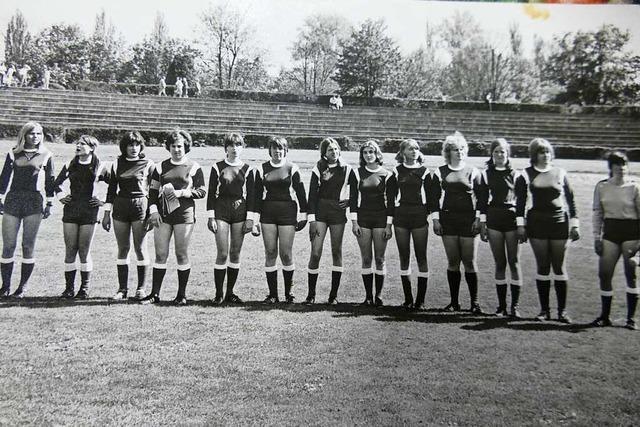 Vor 50 Jahren gründete sich die erste Frauenmannschaft des VfR Rheinfelden