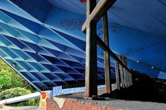 Obdachlose Frau im Freiburger Stadtgarten gestorben