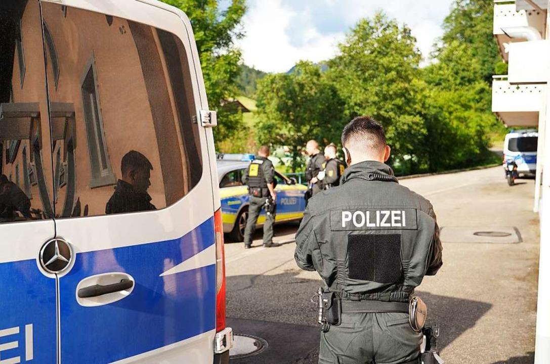 Die Suche nach Yves R. dauerte mehrere Tage.  | Foto: Benedikt Spether (dpa)