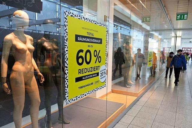 Der Lörracher Modehändler Diehl schließt sein Geschäft am Alten Markt