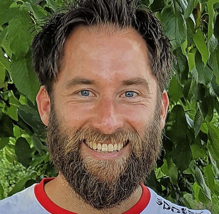 Trainer und Manager Florian Scheuer    Foto: Verein