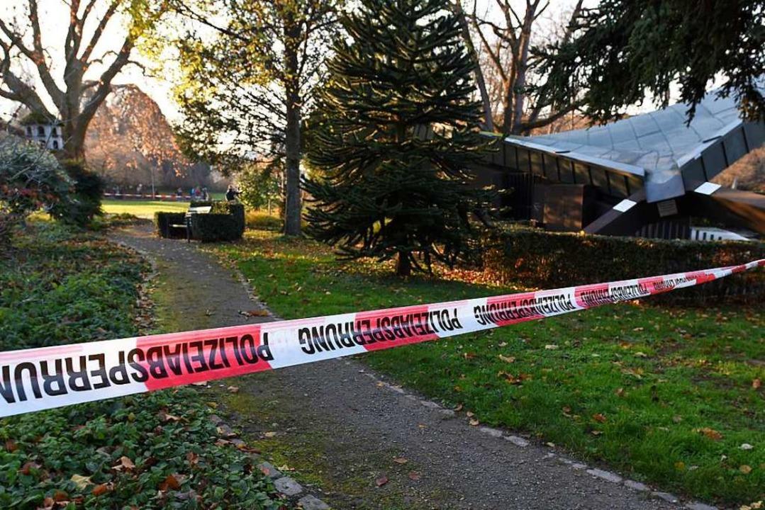 Am Montagmorgen wurde eine 58-Jährige ...avillon im Stadtgarten tot aufgefunden  | Foto: Rita Eggstein
