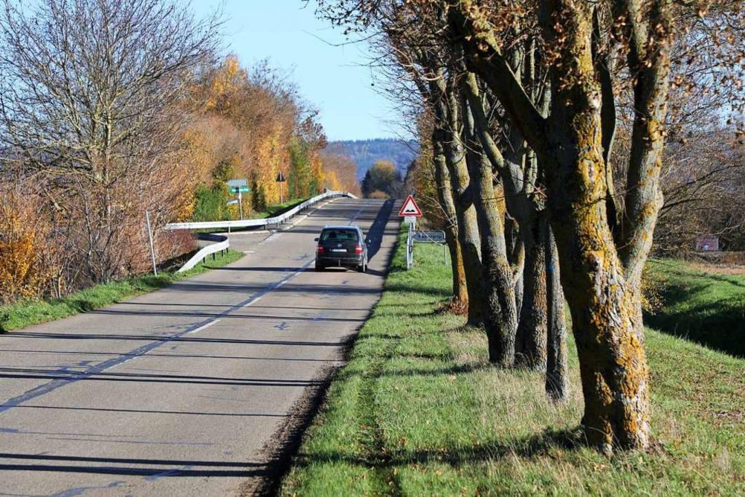 Der Schmiedeweg, der von Mahlberg aus über die Bahnlinie führt  | Foto: Christoph Breithaupt