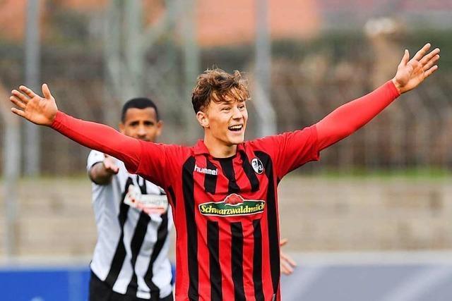 Der Weg des Yannik Keitel vom SV Breisach in die Bundesliga