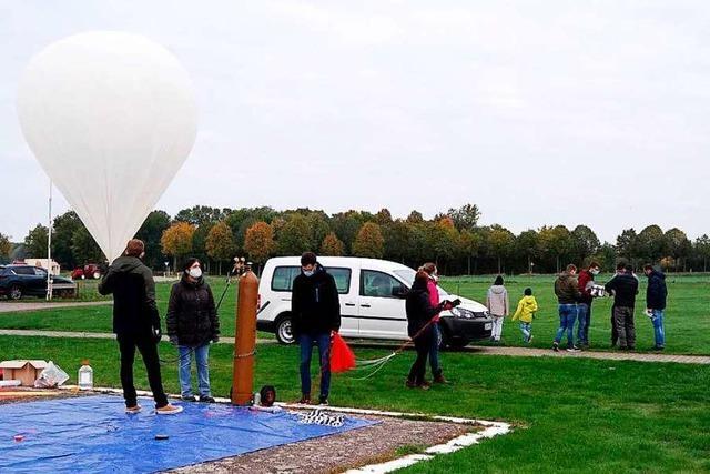 Studierende aus Offenburg schicken Ballon in die Stratosphäre
