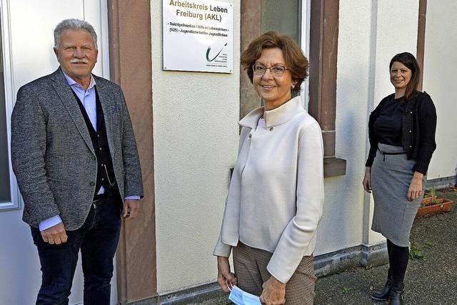 Neue Botschafter für den Arbeitskreis Leben in Freiburg