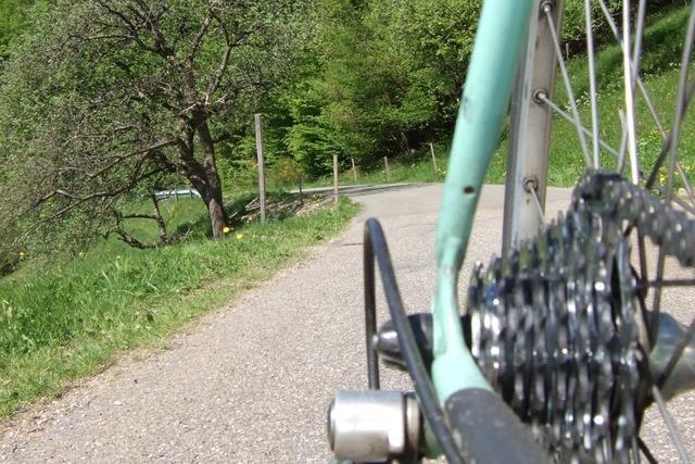 Einsame Straßen im Tal der freien Leute bei Freiamt