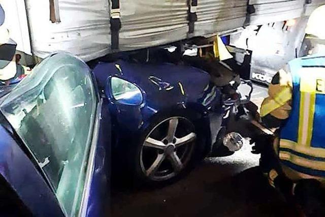 Unfallserie: Hinweis auf psychische Ausnahmesituation beim Lkw-Dieb