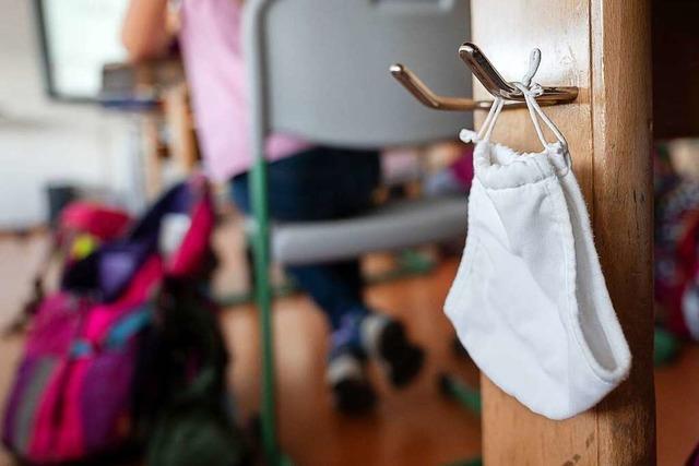 An Freiburger Schulen wird die Maske nicht immer akzeptiert