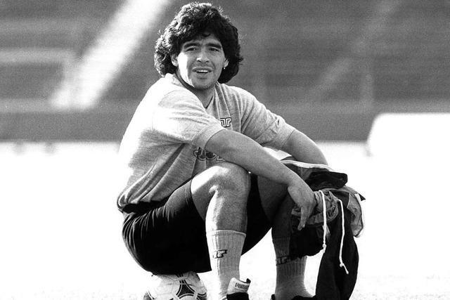 Der Ball gehorchte ihm, das Leben nicht – zum Tod von Diego Maradona
