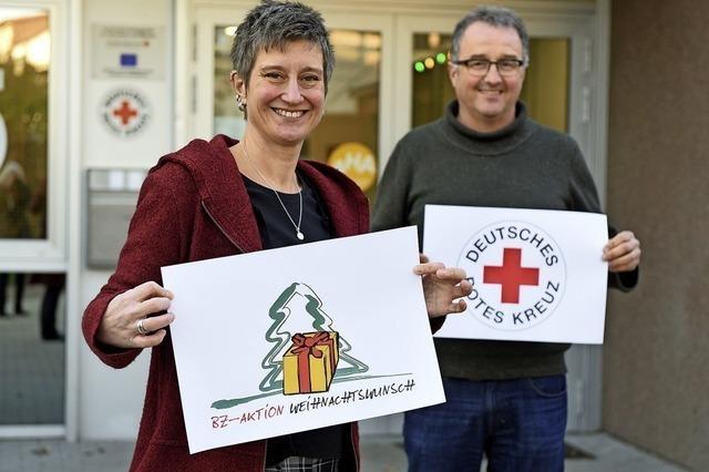 Mit der Aktion Weihnachtswunsch ein Zeichen der Solidarität setzen