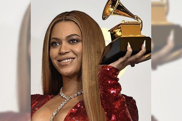 Beyoncé hat Chancen auf neun Grammys