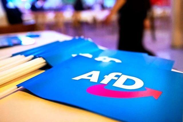 AfD-Parteitag mit Hotspot-Potenzial