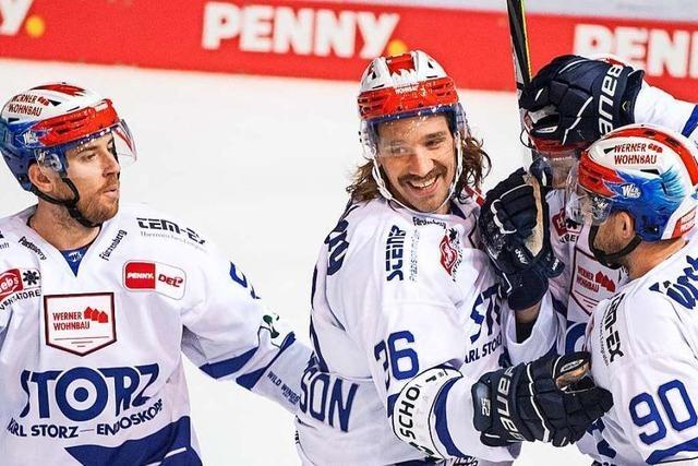 Wild Wings spielen auf Eisfläche im NHL-Format – vor leeren Rängen