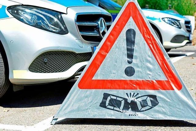 Autofahrer überrollt Kinderfahrrad