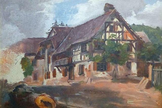 Seit 60 Jahren ist das Hebelhaus in Hausen ein Heimatmuseum