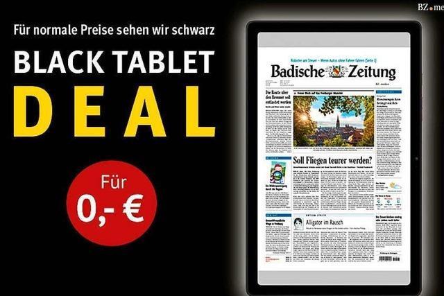 Der Black-Tablet-Deal der BZ: Sichern Sie sich ein kostenloses Samsung Galaxy Tab A7