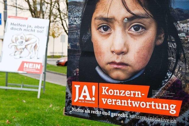 Initiative will weltweit tätige Schweizer Firmen an Menschenrechtsstandards binden