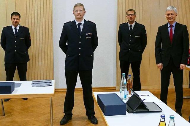 Rainer Brinkmann führt neues Trio bei der Feuerwehr-Führung an