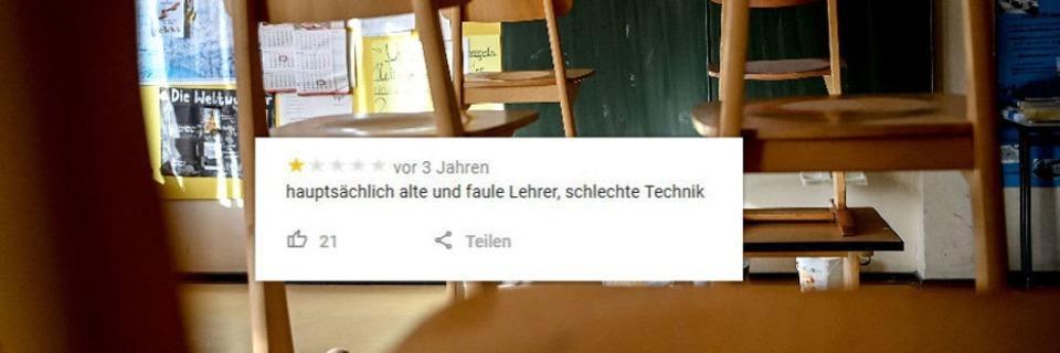 11 lustige Online-Bewertungen von Freiburger Schulen