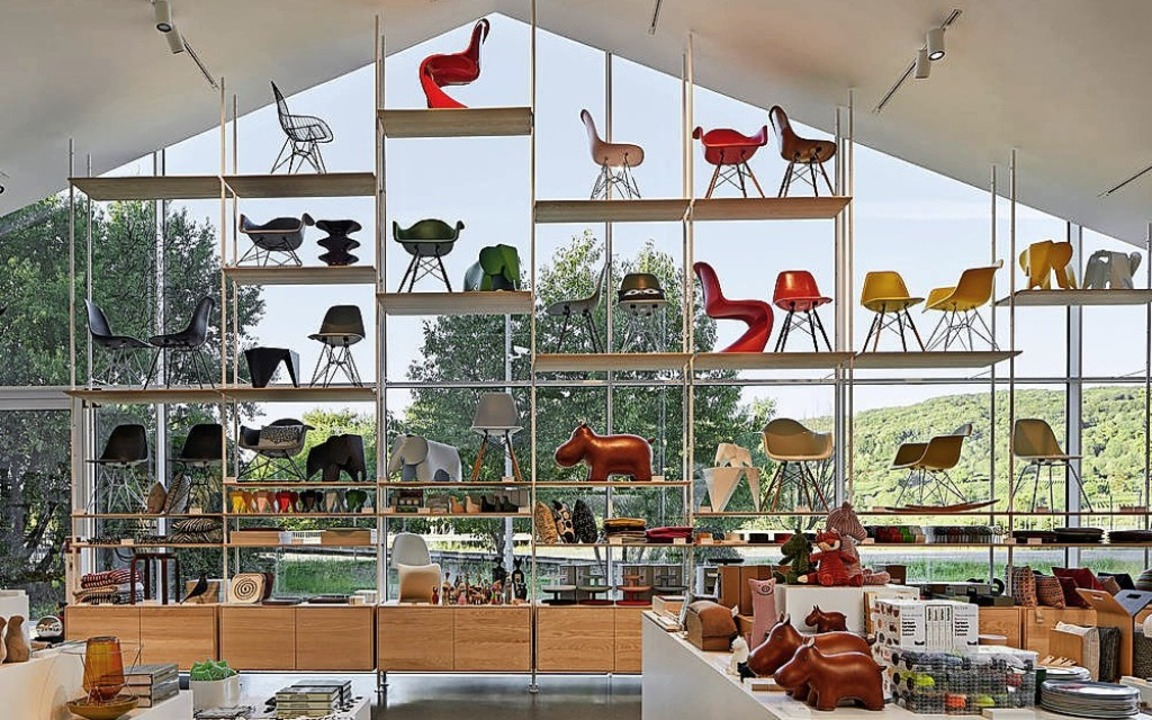 Der Shop im  VitraHaus bietet eine reiche Auswahl.  | Foto: Lorenz Cugini