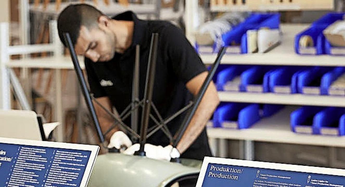 Auch Einblicke in den Herstellungsprozess werden gewährt.  | Foto: Lorenz Cugini