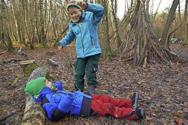 Der Wald- und Naturkindergarten kann kommen