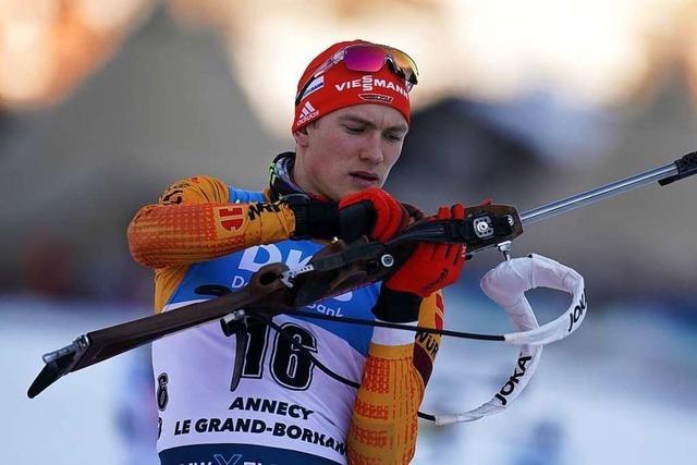 3 Schwarzwälder Biathleten starten am Wochenende beim Weltcup