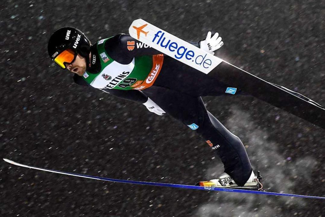 Fabian Rießle in Aktion  | Foto: Vesa Moilanen (dpa)